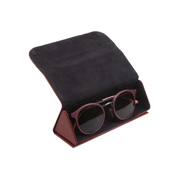 Occula - Flat Folding Specs/Sunglass Holder (Leather)