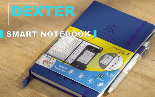 Dexter Erasable + Reusable Paper Notebook + Free Pen - Davy Taylor
