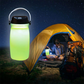 5 in 1 Solar Camping Jar With PowerBank - Davy Taylor