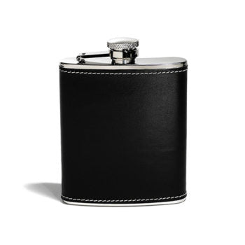 Leather Hipflask 7OZ - Davy Taylor