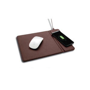 Mouse pad with wireless charger-Leather - Davy Taylor