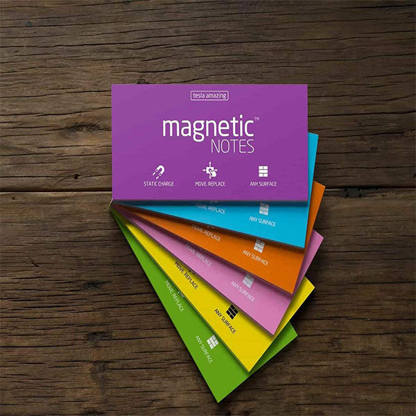 Magnetic Stick Notes By Tesla Amazing - Davy Taylor