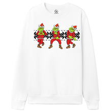 "Load image into Gallery viewer, ""Do You Love Me Grinch Keke Challenge"" White Crew Neck"