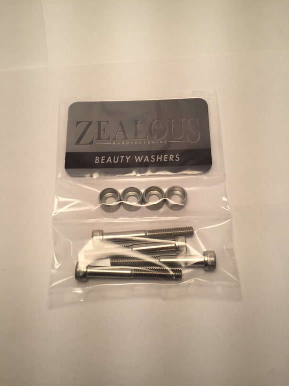 beauty washers beauty washer beauty washer kit beauty washer kits vw audi vag dress up hardware cnc machining made in the USA humble mechanic