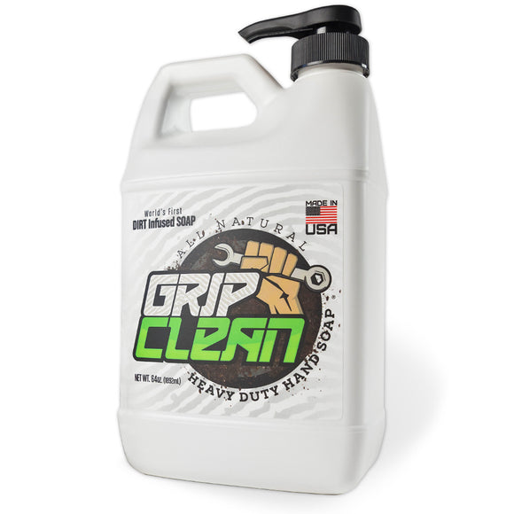Grip Clean All Natural 64 oz (1/2 Gallon) Jug