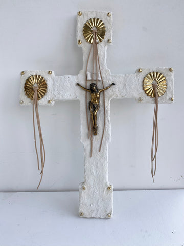 Jesus And Conchos Repurposed Crucifix