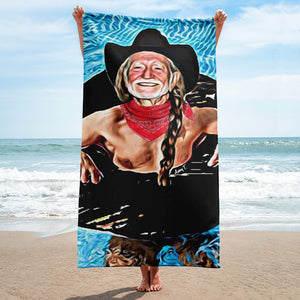 Willie In A Tube Towel