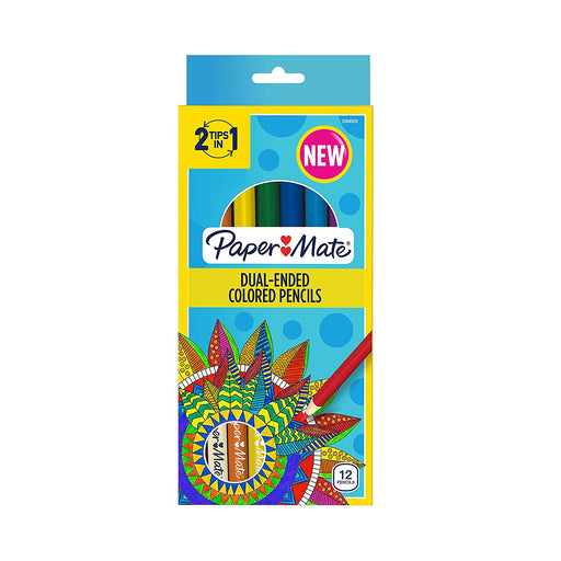 Paper Mate Dual-Sided Colored Pencils 12ct