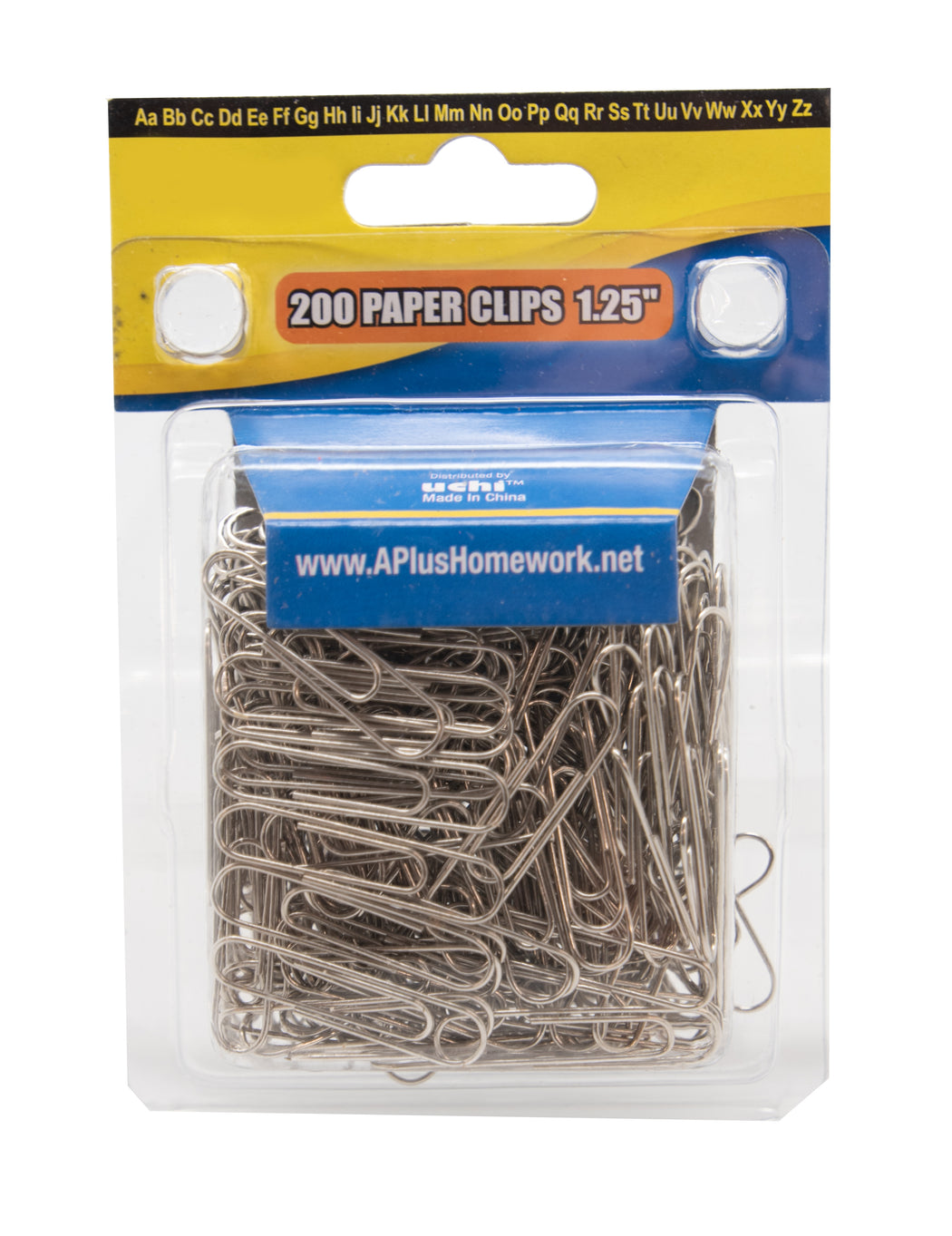 200 Count Silver Paper Clips