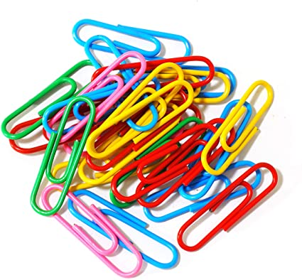80 Count Coated Paper Clips