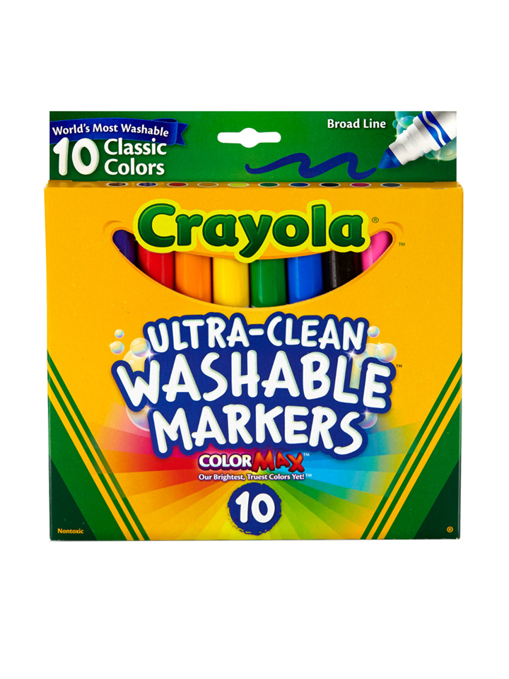 Crayola 10 Pack Washable Markers