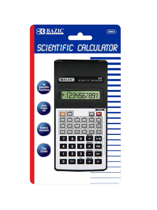 Bazic Scientific Calculator