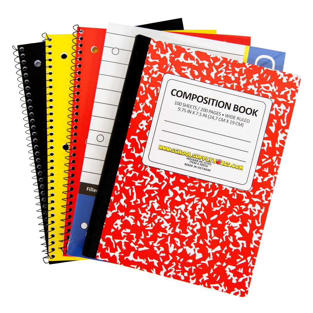 Elementary School Essentials Back to School Kit - School Supplies Bundle - 47 Pieces
