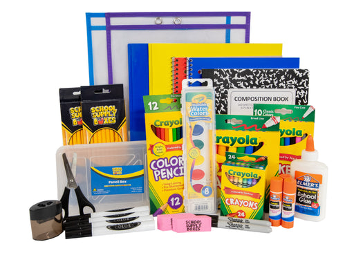 Artistic Essentials Back to School Kit - Art Supplies For All Ages - 47 Pieces
