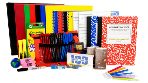 Secondary School Essentials Back to School Kit - School Supplies Bundle - 51 Pieces