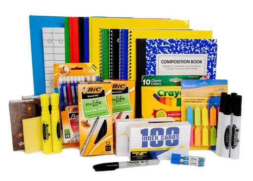 High School Back to School Kit - Back To School Essentials - 30 Piece