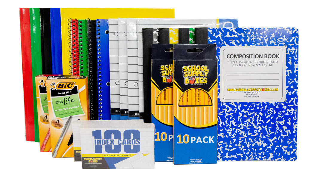 High School Writing Bundle - Back to School Essentials for High School Students - 40 Pieces