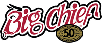 Big Chief 50th Anniversary logo