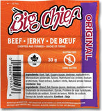 30g Original  Beef Jerky from Big Chief Meat Snacks Calgary