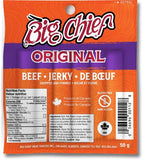 50g Original  Beef Jerky from Big Chief Meat Snacks Calgary