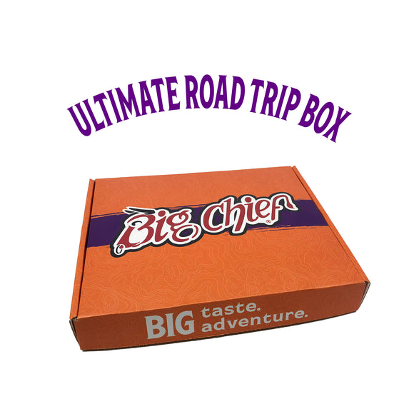 Big Chief Meat Snacks Ultimate Road Trip Box