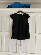 Load image into Gallery viewer, Venice Frill Top in Black