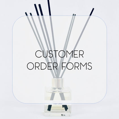 Customer Order Forms