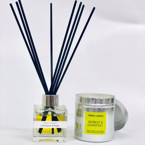 Offer: Signature Candle Tin and Reed Diffuser