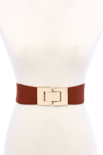 Stretchable Square Buckle Belt