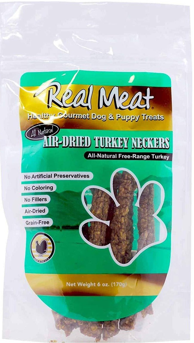 The Real Meat company All Natural Air Dried Turkey Neckers