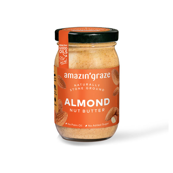 All Natural Almond Butter By Amazin' Grace (no preservatives)-Great with LickiMats!-FOOD-WOOFALICIOUS.SG