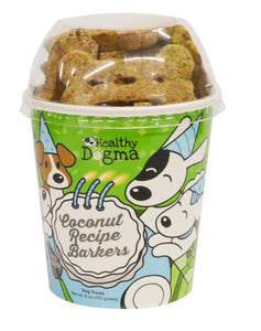 Healthy Dogma Coconut Birthday Barkers Treat Cup-biscuit-WOOFALICIOUS.SG