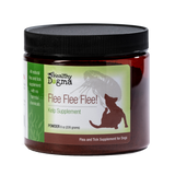 Healthy Dogma Flee Flea Flee Natural Yeast & Garlic Formula Dog Supplements (NATURAL ANTI-Flea)-supplement-WOOFALICIOUS.SG