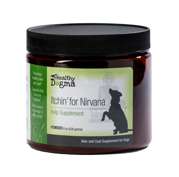 Healthy Dogma Itchin' for Nirvana Skin & Coat Dog Supplements-supplement-WOOFALICIOUS.SG