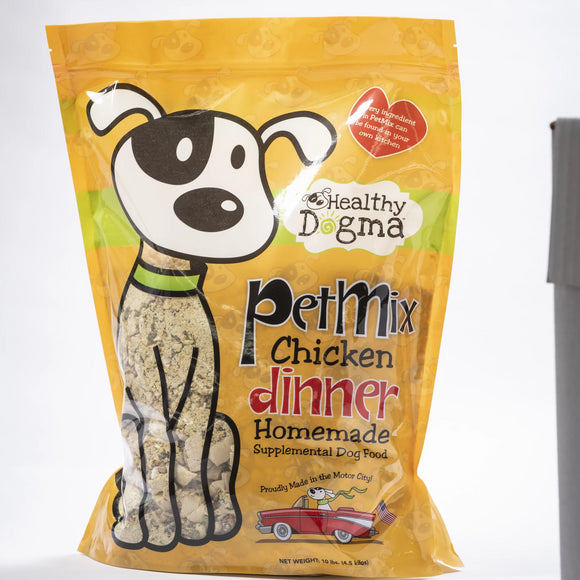 Healthy Dogma PetMix Chicken Dinner Dehydrated-FOOD-WOOFALICIOUS.SG