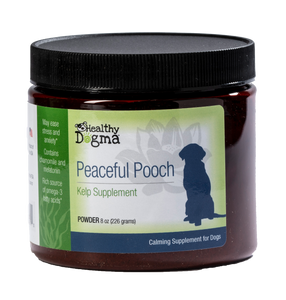 Healthy Dogma Peaceful Pooch Calming Dog Supplements (Anxiety relief)-supplement-WOOFALICIOUS.SG