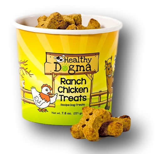 Healthy Dogma Ranch Chicken Barkers Natural Dog Treats Cup-biscuit-WOOFALICIOUS.SG