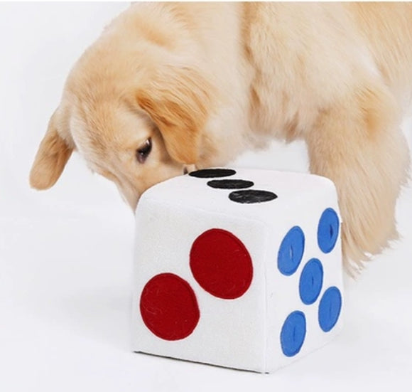 interactive dice toy sniffwork-WOOFALICIOUS.SG
