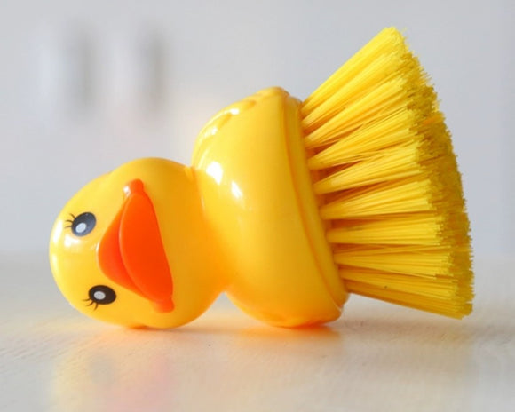 Cleaning brush duck for LickiMat-toy-WOOFALICIOUS.SG