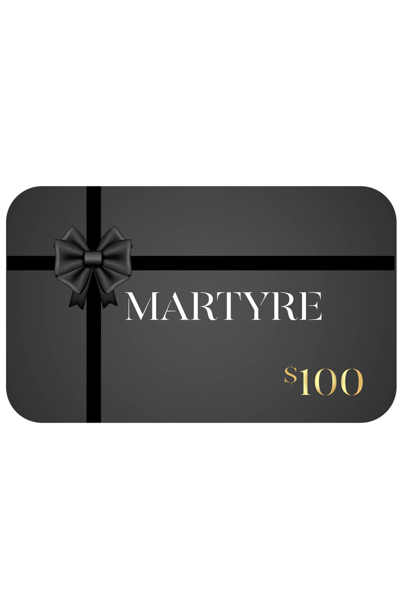 Martyre Gift Card