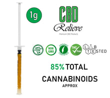 Load image into Gallery viewer, CBD Relieve 1g Full Spectrum Rich Hemp Oil