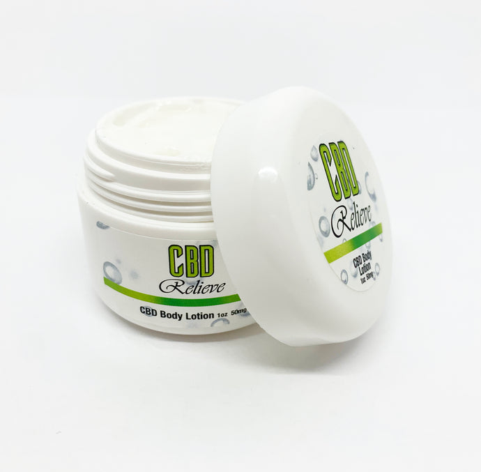 CBD Relieve | 1oz Body Lotion - 50mg