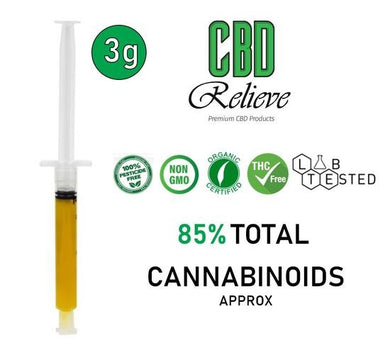 CBD Relieve 3g Full Spectrum Rich Hemp Oil