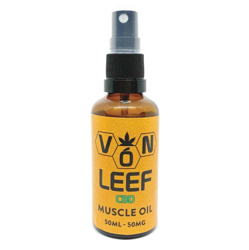 50ml Vón Leef CBD Muscle Oil 50mg