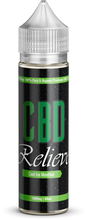 Load image into Gallery viewer, CBD Relieve | 60ml Shortfill E-Liquid - Cool Ice Menthol 1000mg (Nicotine Free)