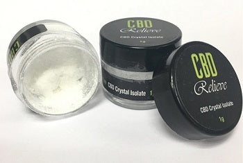 CBD Relieve 1g Pure CBD Crystal Isolate