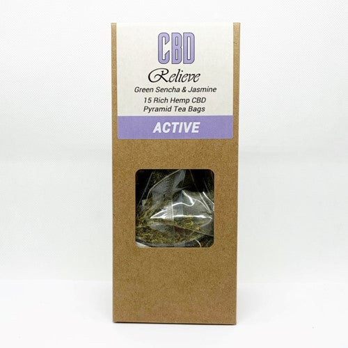 CBD Relieve - Premium Hemp Rich CBD Tea - ACTIVE