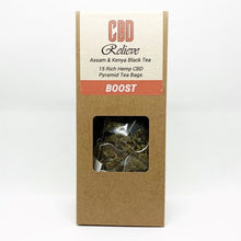 Load image into Gallery viewer, MULTI BUY DEAL: 1x Each Flavour CBD Relieve Hemp Rich CBD Tea