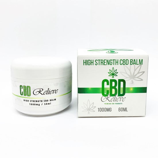 CBD Relieve | 60ml High Strength Balm - 1000mg