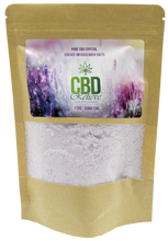 Load image into Gallery viewer, CBD Relieve | 175g Infused Bath Salts - 50mg
